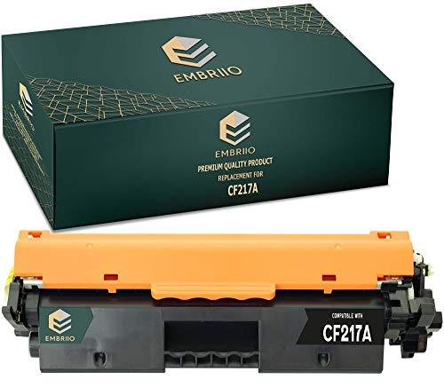 EMBRIIO CF217A 17A Cartucho Tóner Reemplazo para HP Laserjet Pro M102a M102w MFP M130nw M130fn M130fw M130a