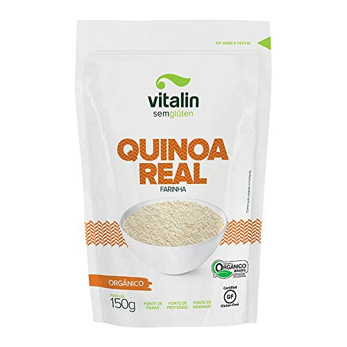 Farinha Orgânica de Quinoa Real Vitalin 150g