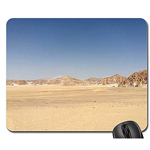 Spielmatte Wüste Ägypten Sand Berge Reise Urlaub Sonne Spielmatte Mauspad Mousepad Mauspad Mauspads 25X30cm