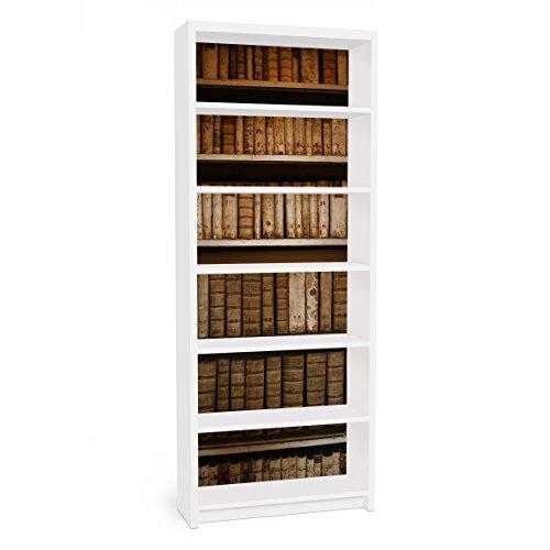 Vinilo Adhesivo para Muebles IKEA - Billy Bookshelf - Old Archive, Größe:2 Mal 94cm x 76cm