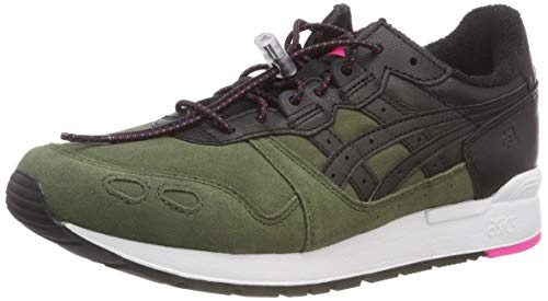 Asics Gel-Lyte, Zapatillas de Running Unisex Adulto, Verde (Forest/Black 300), 42 EU