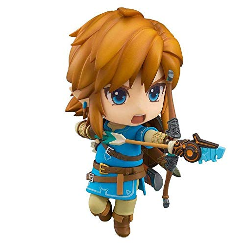 The Legend of Zelda: Breath of The Wild: Elias Epona Link (Versión de la Figura de Acción de Nendoroid de la Estatua 4 Pulgadas (Color: Versión Regular)