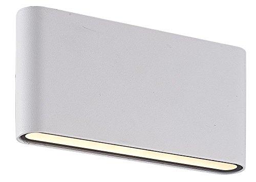 Interfan Book Two wandlamp, wit, 3 x 17,5 x 9 cm