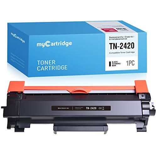 MyCartridge compatibile Brother TN-2420 TN2420 Toner (con chip) per MFC-L2710dw MFC-L2710dn MFC-L2750dw HL-L2375dw HL-L2370dn HL-L2350dw Stampante