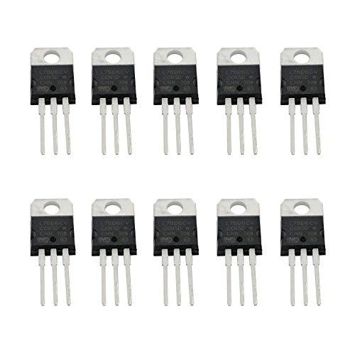 10 pcs IC Chip LM317T LM317 1.2V TO 37V Voltage Regulator Original STmicro