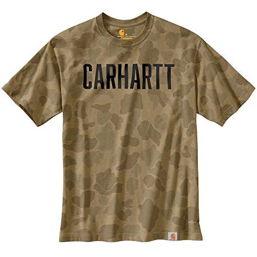 Carhartt Workwear Camo Block Logo T-Shirt Camouflage XXL
