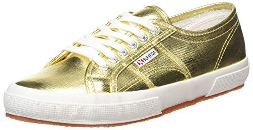 Superga 2750 Cotmetu Gs002Hg0U, Herren Sneaker, gold, 45 EU / 10.5 UK