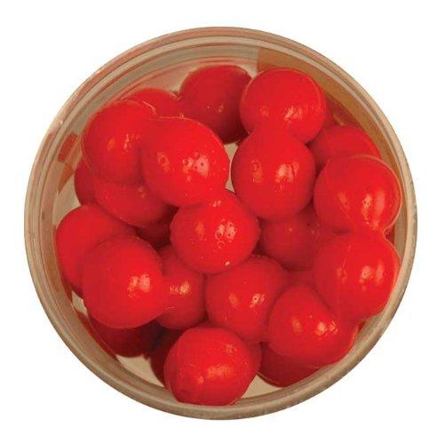 Berkley PowerBait Power Eggs Floating Magnum Salmon Egg Red - Garlic Scent, .5 oz Small Jar