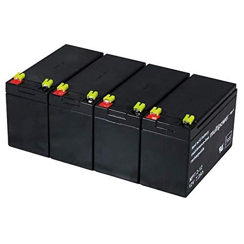 Powery Recambio de Batería para USV APC Smart-UPS SC 1500-2U Montaje en...