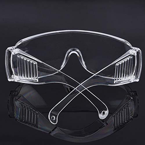 Cofemy Safety Glasses UV Protection Eye Wear, anti-kras helder glas, grote glazen, anti-condens-blokkering
