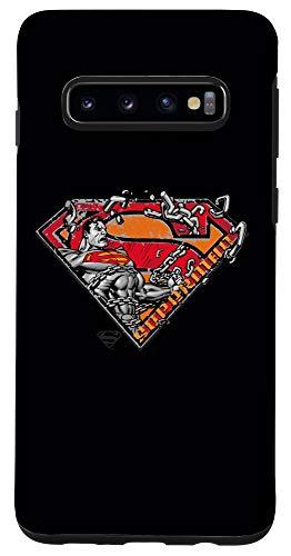 Galaxy S10 Superman Breaking Chain Logo Case