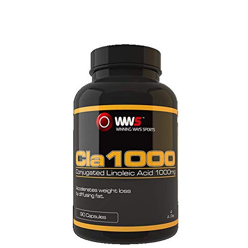 Conjugated Linoleic Acid (CLA) 1000mg 90 Capsules | Natural Fat Burner and Muscle Mass Builder