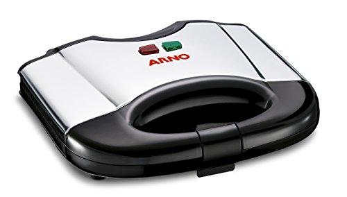 Sanduicheira Compacta Grill Arno Sanduicheira Arno Sacs Preto/inox 220v
