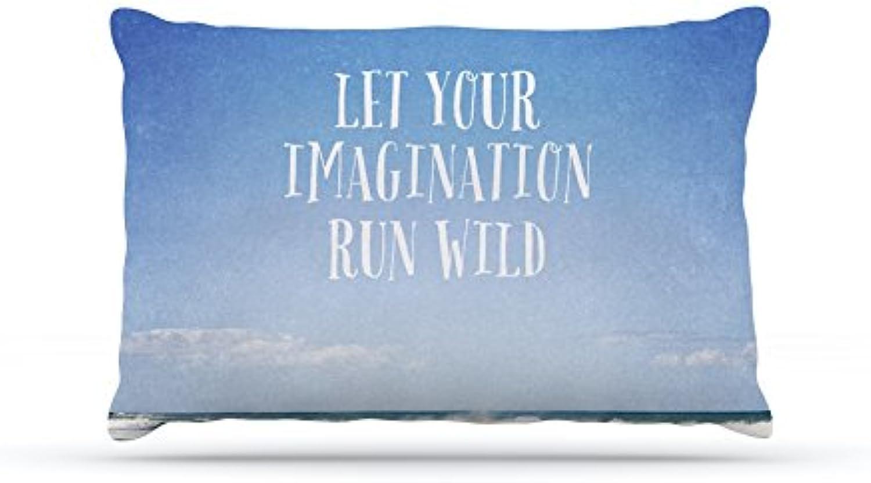 Kess InHouse Susannah Tucker Let Your Imagination Run Wild  Ocean Dog Bed