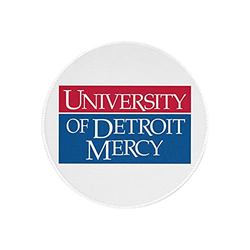 University- of Detroit Mercy Mouse Pad Round Gaming Mouse Pad Creative Custom Non-Slip Mouse Mat
