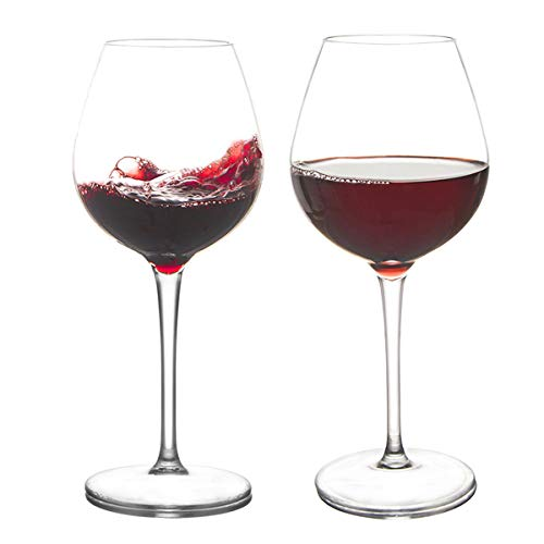 YLOVAN Floating Wine Glasses The Pool - 17-Oz Beach Wine Glasses Set of 2, Shatterproof Poolside Wine Glass, Ideal for Red and White Wine, Juice, Kitchen Glassware, Sand, Patio