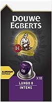 Douwe Egberts Koffiecups Lungo Intens (100 Capsules, Geschikt voor Nespresso* Koffiemachines, Intensiteit 08/12, Donker...