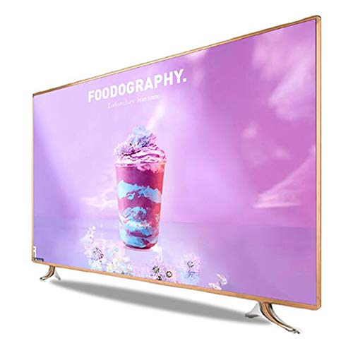 Smart TV 32/42 Zoll LCD, 4K Ultra HD LED-Fernseher, WiFi-Netzwerkfernseher , Mit 2 x USB, 2 x HDMI, Ant Enna, Netzwerk (Golden)