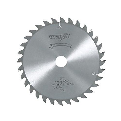 Mafell HM-Blatt 168 x 20 Z 32 WZ - für KSS 50 + K 55 für Feinschnitte im Holz
