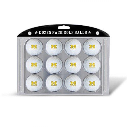 Best Review Of Team Golf NCAA Dozen Regulation Size Golf Balls, 12 Pack, Full Color Durable Team Imp...