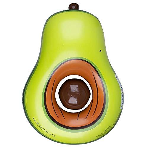 Swim Essentials Luftmatratze Avocado mit Stein 180 x 120 cm grün