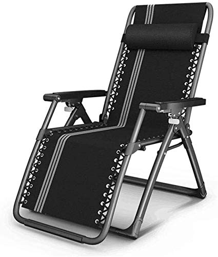 Aoyo - Sillas reclinables plegables de playa multifunción con reposabrazos de masaje para sillas de exterior perezosas de interior, camping, jardín, sillas reclinables, E, 100x52x85cm