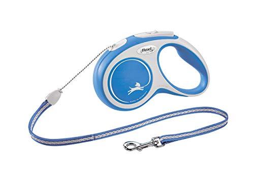 Flexi CR04097AZ New Confort Laisse pour Chien Bleu Taille M