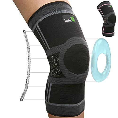 TechWare Pro Knee Compression Sleeve - Knee Brace for...