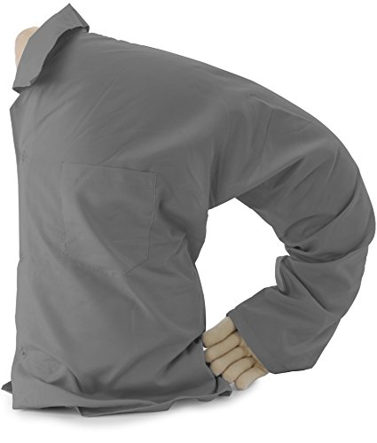 Boyfriend Pillow The Original Boyfriend Body Pillow Gray Grey