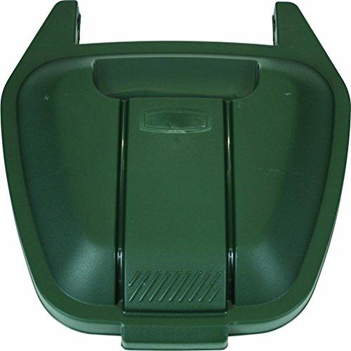 Rubbermaid Commercial Products 12902-501-71 - Tapa para cubo de basura móvil, verde