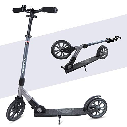 SWAGTRON キックボード スクーター 子供/大人用 耐荷重100kg 折りたたみ式 安定 K8