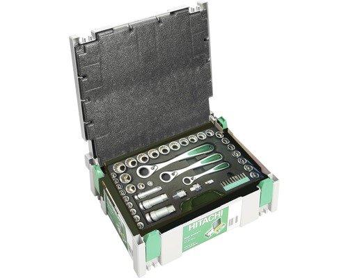 Hitachi Steckschlüssel-Satz Hitachi 49-tlg im Systainer
