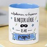 La Mente es Maravillosa - Taza con frase y dibujo divertido (Ni spiderman, ni...
