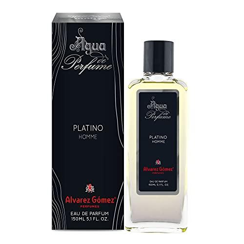Agua de perfume para hombre Platinio, frasco 150 ml agua de perfume magnetico