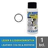 ATG Autozubehör-Teile-Gerl Farbe für Ledersitze | Leder aufbereiter | Reparaturset für Ledersitze | entfernt Kratzer im Leder | Kunstleder Kratzer entfernen 57ml Weiß