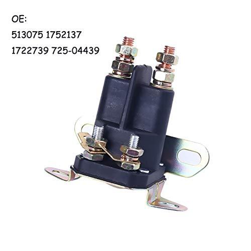 Piaobaige 12V Auto Universal 4 postes de arranque solenoide Exmark 1-513075 1752137 1722739 725-04439 para passat b6 accesorios universales de coche