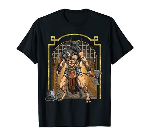 Minotaur Ancient Greek Mythology Bull Mythical Creature T-Shirt