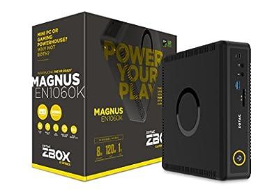 NEW ZOTAC ZBOX MAGNUS EN980 Gaming Mini PC, Intel Skylake Core i5-6400 NVIDIA GeForce GTX 980 VR Ready Liquid Cooled Whisper Quiet Aluminum Body Compact Barebones No Memory/Storage/OS (ZBOX-EN980-U)