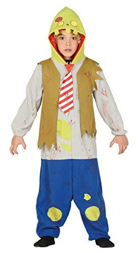 guirca Costume Zombie pianta Contro Mostri Bambino Horror Halloween 5/6 Anni