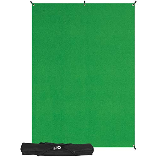 Westcott Basics Greenscreen Hintergrund X-Drop (1,5 x 2,1 m)