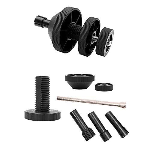 Hangrow Kupplungsausrichtungswerkzeug, Ausrichtungswerkzeuge Automobil, Kupplung slochkorrektur + 3-Hülsen-Zubehör, Werkzeug zur Korrektur der Autokupplung