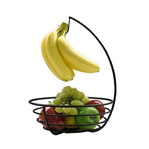Shopps Bananenkorb Obstkorb, Aufsatz-Obstkorb, umweltfreundliche 180-Grad-Hochtemperaturfarbe, geeignet für Familien, Hotels, Büros