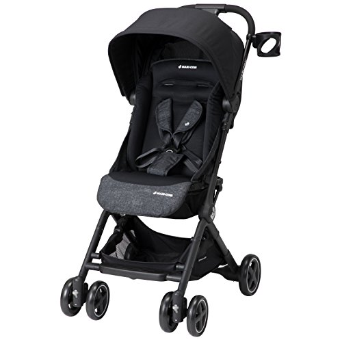 Maxi-Cosi Lara Lightweight Ultra Compact Stroller, Nomad Black, One Size
