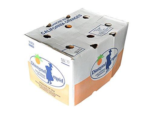 アメリカ産 バレンシアオレンジ 56〜88玉入り(箱) (56玉入り)