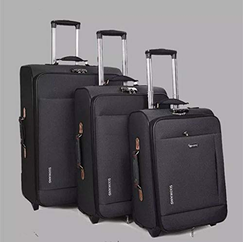 N-B Rolling Suitcase Large Capacity Business Suitcase Travel Suitcase Men And Women Boarding Luggage Bag 20