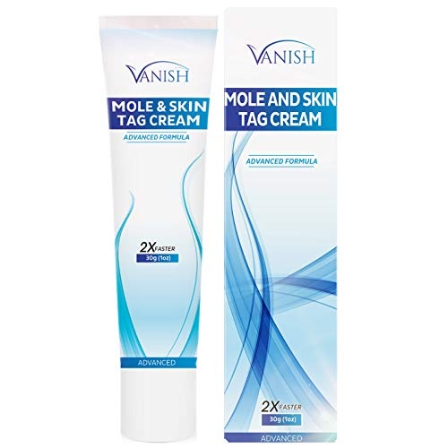 Vanish Mole & Skin Tag Cream, Maximum Strength | Improves the appearance of moles and skin tags | Advanced Cream Formula, Proven Results | Helpful E-Book Included