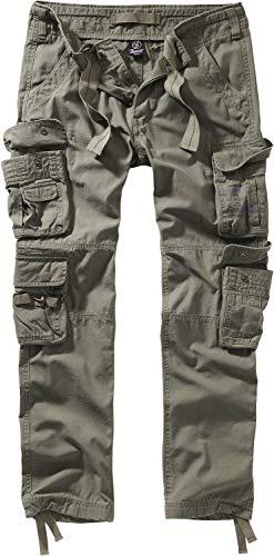Brandit Pure Vintage Trouser II Männer Cargohose Oliv S