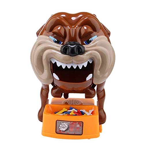 Yipianyun Bad Dog Game, lustige knifflige Spiele Bad Dog Action Spiele Toy Wake Wake The Dog Toys Hund Brettspiel Party Familie Eltern Kinder Freunde Hund Brettspiel,a