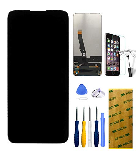 Xlhama - Pantalla táctil LCD para Huawei P Smart Z 9X Y9 Prime [2019] reparación y sustitución de Pantalla LCD digitalizador + Pantalla táctil con Herramientas Incluidas y Cristal Templado