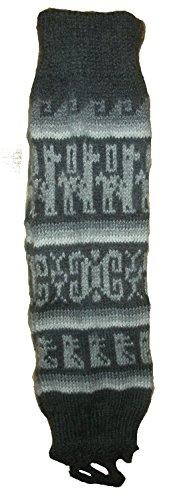 Terrapin Trading Fair Trade Unisex bolivianischen weiche Alpaka Wolle Woll-Stulpen GRÖSSE 5-10 für